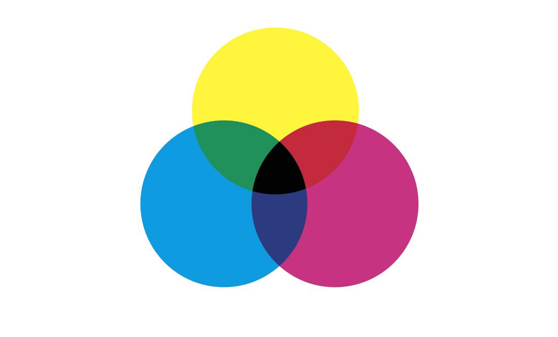 色の三原色のサムネール